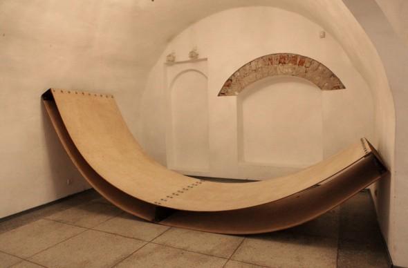 Peel Funierholz, 300*150*20cm, 2011