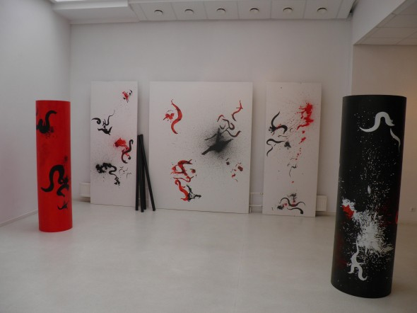 Installation at Klaipeda Culture and Communication Center, Lithuania