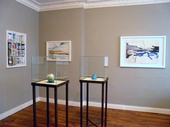 Installationview at Werkstattgalerie 2014