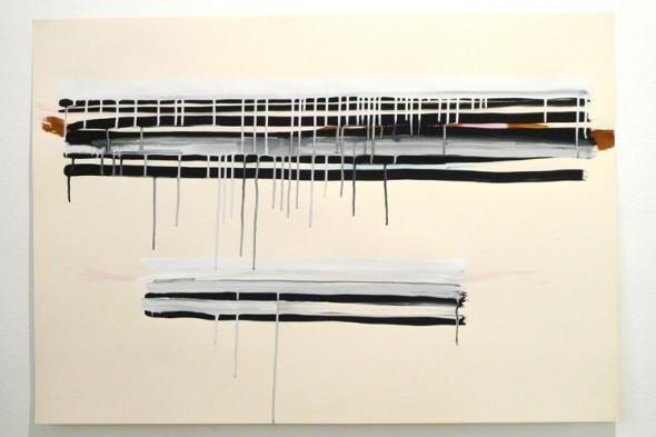 BLOODSHED 1, 2014 Aquarell und Gouache auf Papier 100x70cm