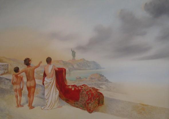 The 3rd Rome Öl auf Leinwand, 100cm*140cm, 2011