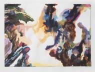 Weisser Aquarell, 35x48cm, 2013