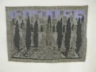 Venice Garden mixed media auf Leinwand, beidseitig bemalt, 71,5 x 73,3 cm