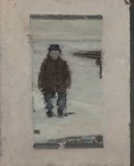 Winter (By the fir trees),