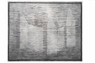 Uwe, schau, hier sind überall Luftschlösser! 171 cm x 211 cm Mischtechnik auf Leinwand, 2015