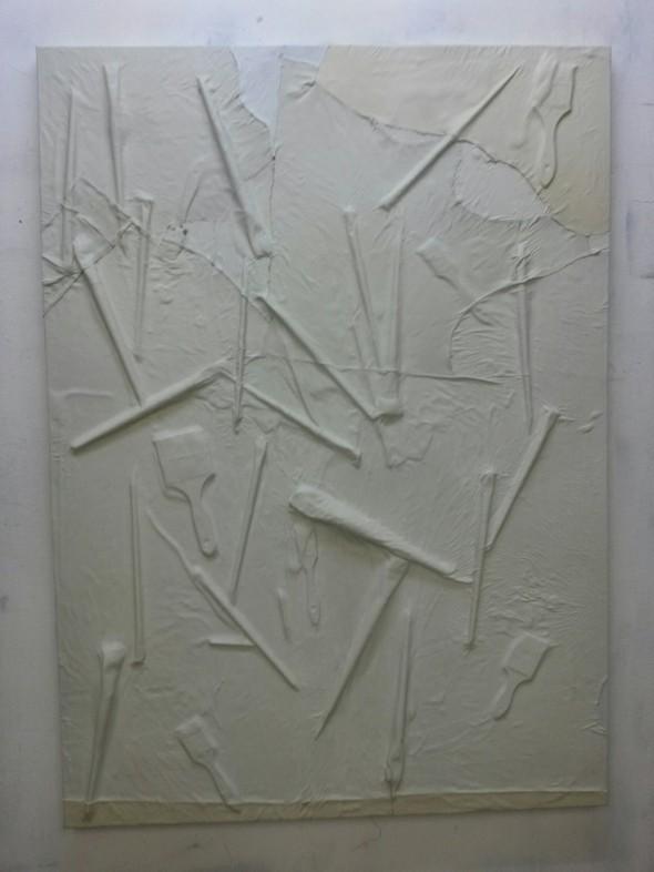 Hannu Prinz o.T. 151 cm x 109 cm Mischtechnik auf Leinwand
