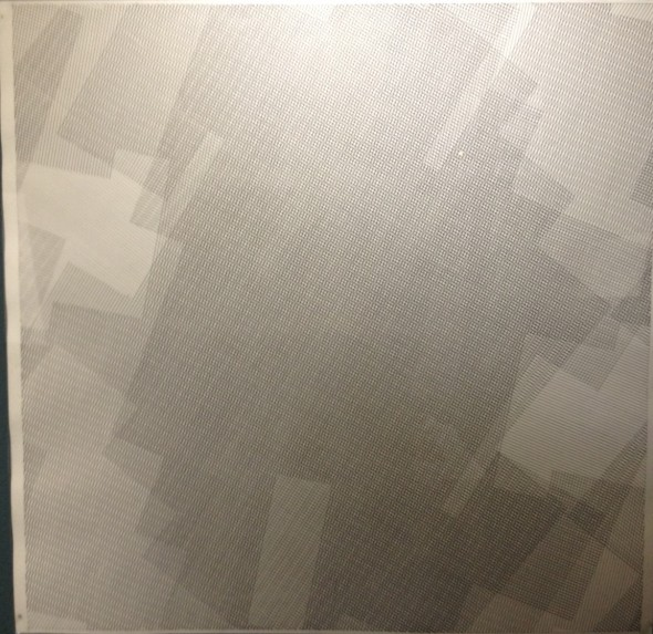 Linien auf Papier, 1980  72x73cm  in Plexiglas gerahmt