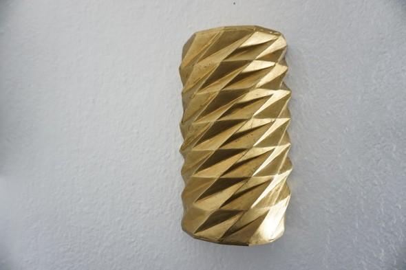 Bruno de Panafieu Zylinder Bronze, Radius 8cmx 25cm, 2009