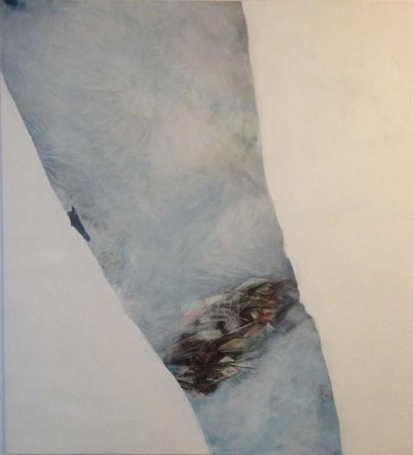 Pascual Jordan ohne Titel Tempera und Öl auf Leinwand 178 cm x 164 cm, 2016