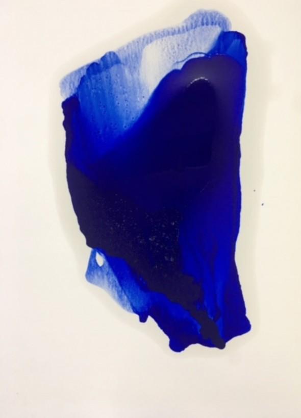 Ingeborg zu Schleswig-Holstein ohne Titel 70 cm x 50 cm Ölfarbe auf Papier , 2017