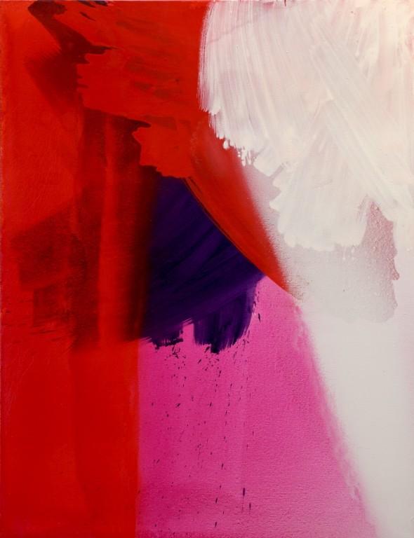 Ohne Titel Öl auf Leinwand, 165 x 125 cm, 2010