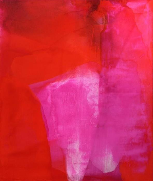 Ohne Titel Öl auf Leinwand, 190 x 190 cm, 2010