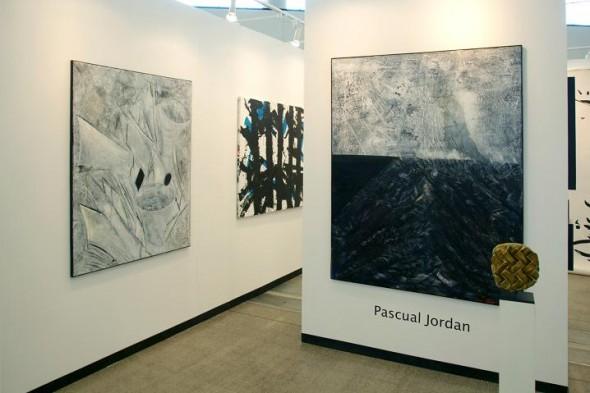 Pascual Jordan without Title Öl auf Leinwand, 180*120cm, 2011 Öl auf Leinwand, 140*100cm, 2010  Bruno de Panafieu Bronce, ca.20*20*5cm