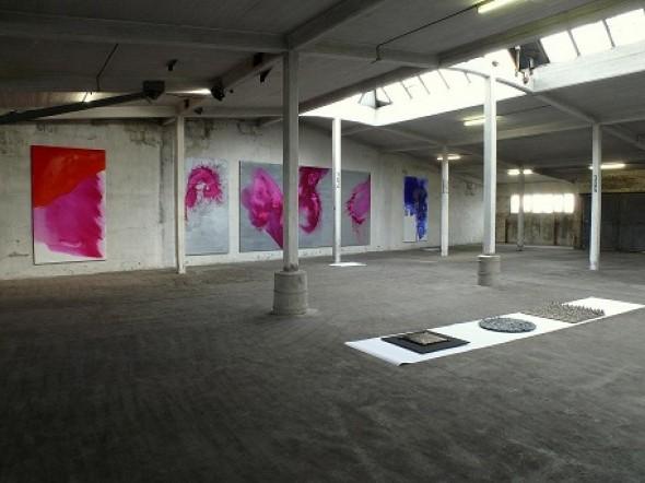 Ingeborg zu Schleswig-Holstein Acryl, Pigment mixed media auf Leinwand, 303*185cm, 2011