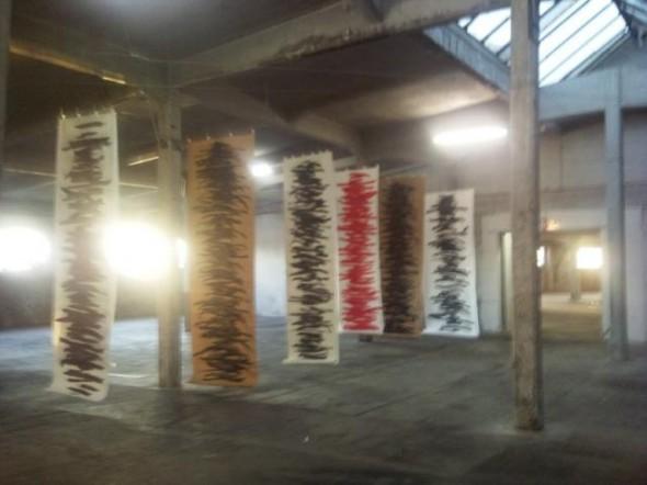 Rudolf zur Lippe Gestische Malerei Chinatusche auf Papier, div.Formate, 2005-2010
