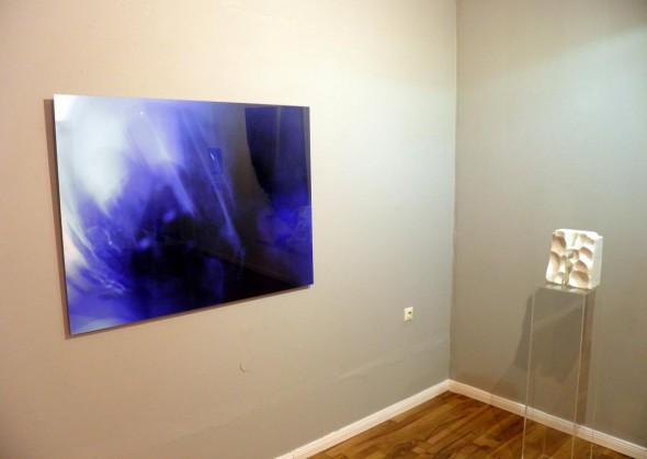 Friedrich Lippe  ohne Titel Photo auf AluDibond hinter Plexi, 75*120cm, 2013  & Clement Borderie