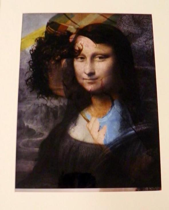 Mona Isa C-Print, 40x29cm, sig., 2010 AP Ed. 120+20 AP für Texte zur Kunst 78