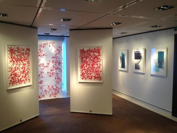 Installationsansicht Galerieraum Rudolf zur Lippe