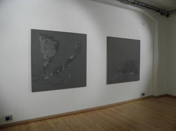 Daniel Lergon Zink1+2 160cmx160cm, 2014