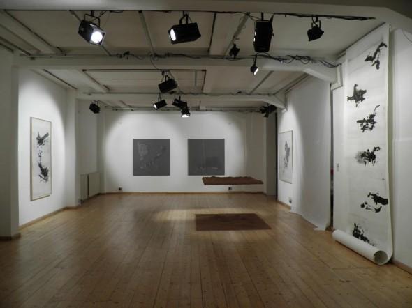 Installtionview at Teatri di Vita- Bologna Rudolf zur Lippe, Daniel Lergon, Caroline Le Méhauté