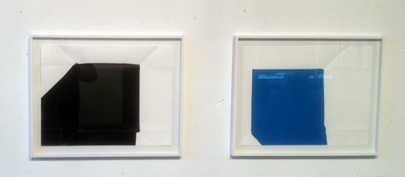 Rainer Splitt  2 Paperpools Arcyl auf Fabriano, 50x70cm, 2013