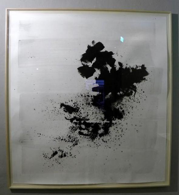 Rudolf zur Lippe Chinatusche auf Papier, 150x160cm, 2014