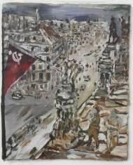Luke Jackson History Painting Öl auf Karton, 29cm*28cm, 2009