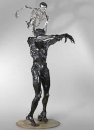 Colin Maillard Bronze, 265x150x120cm, 2008, Ed. 2/8, Guss: Landowski Paris