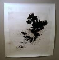 Tanikawa-Insel Chinatusche auf Papier,  160x 151 cm, 2012