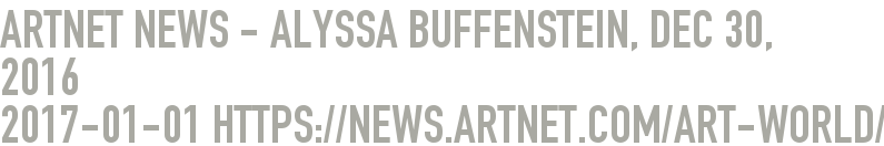 Artnet News - Alyssa Buffenstein, Dec 30, 2016  2017-01-01 - https://news.artnet.com/art-world/exhibition-fez-gathering-art-crisis-792767